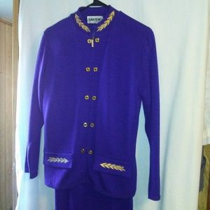 WT182 San Remo S 3pc Sweater Skirt Suit